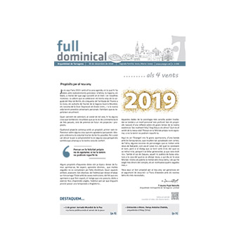 Full dominical n. 3590 / 30 desembre 2018