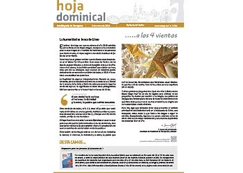 Hoja dominical n. 3591 / 06 enero 2019