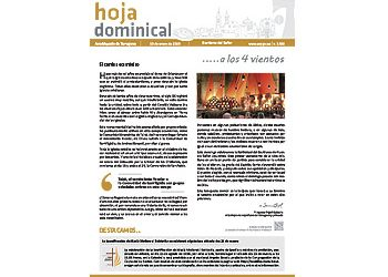Hoja dominical n. 3592 / 13 enero 2019