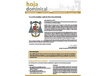 Hoja Dominical n. 3597 / 17 febrero 2019