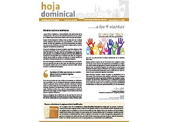 Hoja Dominical n. 3599 / 03 marzo 2019