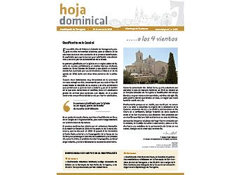 Hoja dominical n. 3600 / 10 marzo 2019