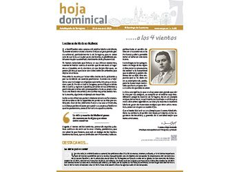 Hoja dominical n. 3602 / 24 marzo 2019