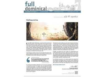 Full Dominical n. 3606 / 21 abril 2019