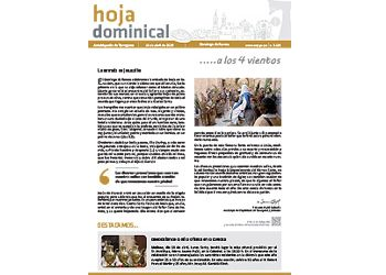Hoja Dominical n. 3605 / 14 abril 2019