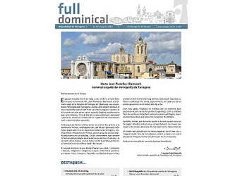 Full Dominical n. 3609 / 12 maig 2019