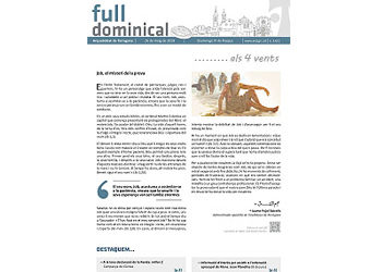 Full Dominical n. 3611 / 26 maig 2019