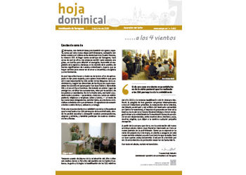 Hoja dominical n. 3612 /2 junio 2019