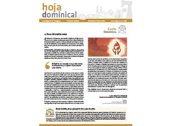 Hoja Dominical n. 3613 / 9 junio 2019