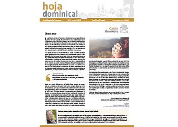 Hoja Dominical n.3614 / 16 junio 2019