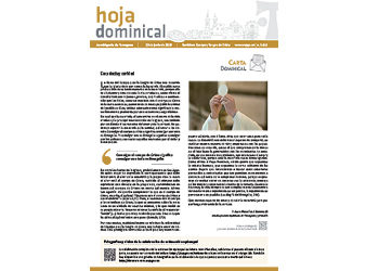 Hoja Dominical n. 3615 / 23 junio 2019