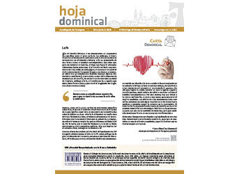 Hoja Dominical n. 3616 / 30 junio 2019
