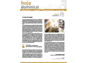 Hoja Dominical n. 3619 / 21 julio 2019