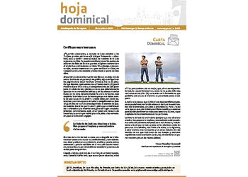 Hoja Dominical n. 3620 / 28 julio 2019