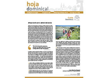 Hoja Dominical n. 3621 / 4 agosto 2019