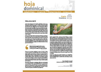Hoja Dominical n. 3624 / 25 agosto 2019