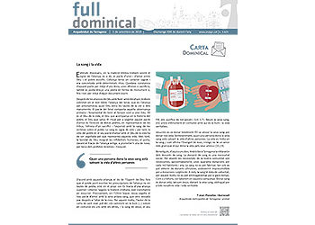 Full Dominical n. 3625 / 01 setembre 2019