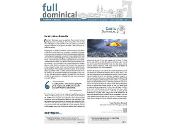 Full Dominical n. 2627 / 15 setembre 2019