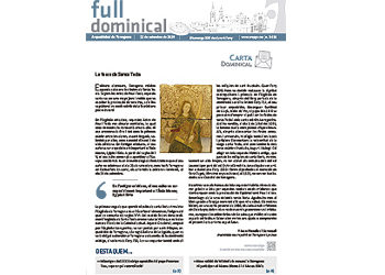 Full Dominical n. 3628 / 22 setembre 2019