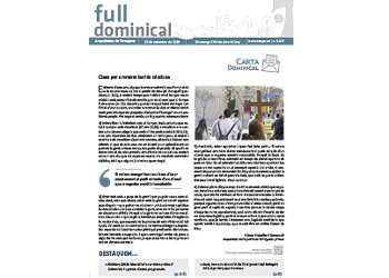 Full Dominical n. 3629 / 29 setembre 2019