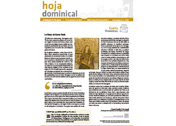 Hoja Dominical n. 3628 / 22 setembre 2019