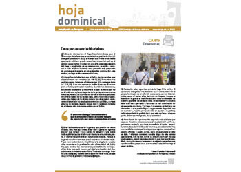Hoja Dominical n. 3629 / 29 septiembre 2019