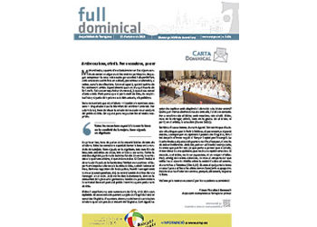 Full Dominical n. 3631 / 13 octubre 2019