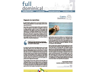 Full Dominical n. 3633 / 27 octubre 2019