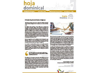 Hoja Dominical n. 3630 / 06 octubre 2019