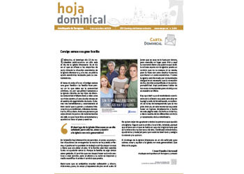 Hoja Dominical n. 3634 / 3 noviembre 2019