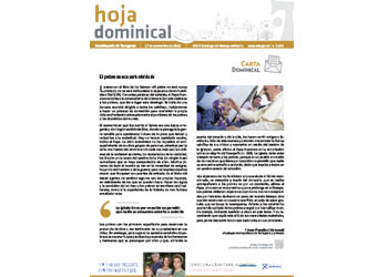 Hoja Dominical n. 3636 / 17 noviembre 2019