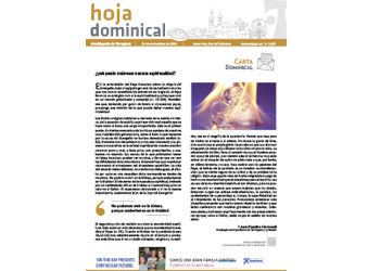 Hoja Dominical n. 3637 / 24 noviembre 2019