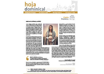 Hoja Dominical n. 3639 / 08 diciembre 2019