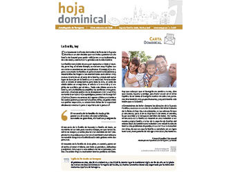 Hoja Dominical n. 3642 / 29 diciembre 2019