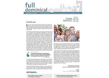 Full Dominical n. 3642 / 29 desembre 2019