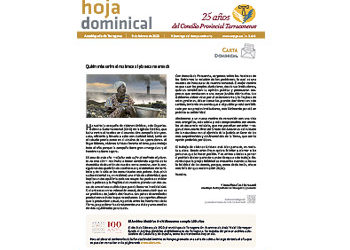 Hoja Dominical n. 3648 / 9 febrero 2020