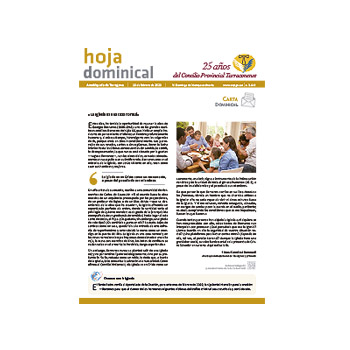 Hoja Dominical n. 3649 / 16 febrero 2020