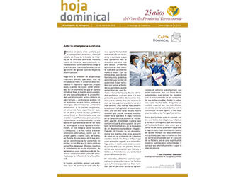 Hoja Dominical n. 3654 / 22 marzo 2020