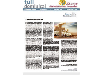 Full Dominical n. 3656 / 5 abril 2020