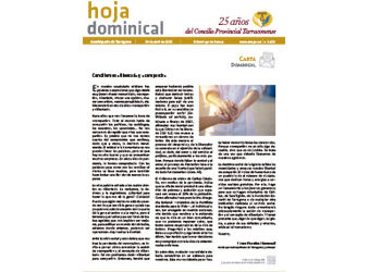 hoja Dominical n. 3658 / 19 abril 2020