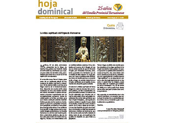 Hoja Dominical n. 3659 / 26 abril 2020