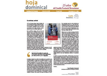 Hoja Dominical n. 3666 / 14 junio 2020