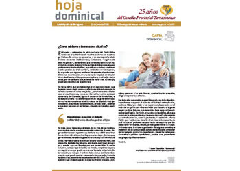 Hoja Dominical n. 3667 / 21 junio 2020