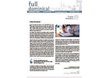 Full Dominical n. 3671 / 19 juliol 2020