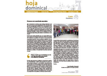Hoja Dominical n. 3669 / 05 julio 2020