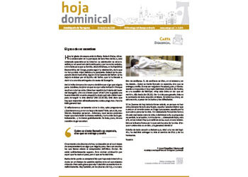 Hoja Dominical n. 3670 / 12 julio 2020