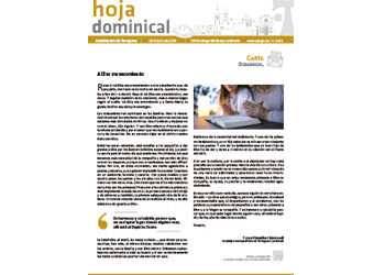 Hoja Dominical n. 3671 / 19 julio 2020