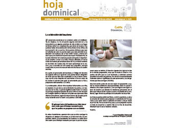 Hoja Dominical n. 3672 / 26 julio 2020