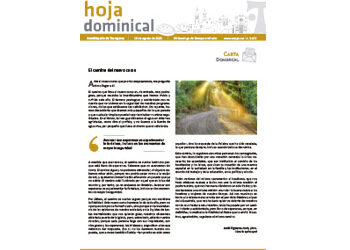 Hoja Dominical n. 3675 / 16 agosto 2020