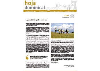Hoja Dominical n. 3676 / 23 agosto 2020